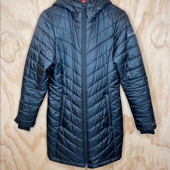 Columbia Women's Omni-Heat Hooded Jacket - Large